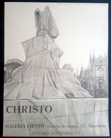掲示 Christo - Christo - Galeria Ciento 1975