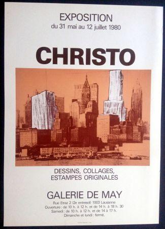 掲示 Christo - Christo - Galerie de May 1980