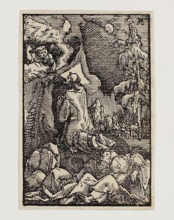 木版 Altdorfer - Christus am Ölberg (Christ on the Mount of Olives)