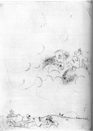 エッチング Chagall - Cicicov's Dream