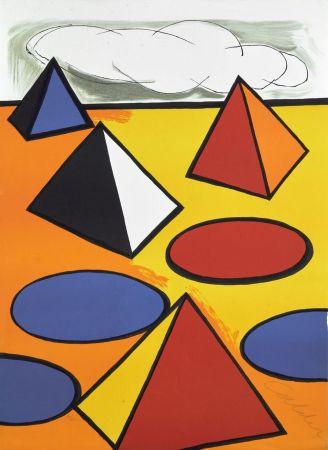 リトグラフ Calder - Ciel d'orage - 1976