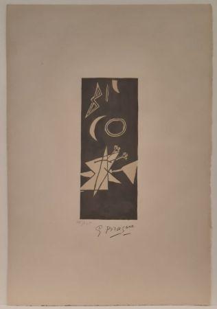 リトグラフ Braque - Ciel Gris II