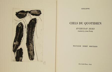 挿絵入り本 Debré - Ciels du quotidien