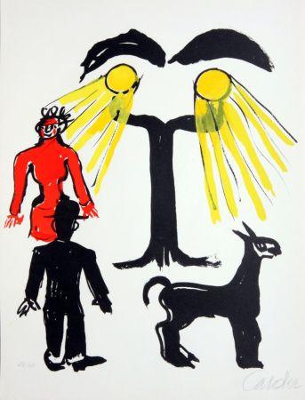 リトグラフ Calder - Cinema / Hommage a Man Ray