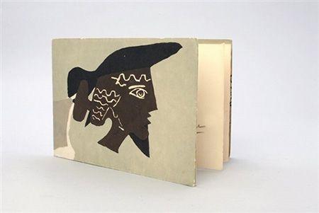 挿絵入り本 Braque - Cinq poésie en hommage à Braque