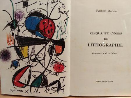 挿絵入り本 Miró (After) - Cinquante annees De lithographie