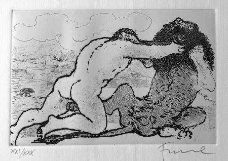 挿絵入り本 Fiume - Cinque acqueforti per i poeti greci tradotti da Salvatore Quasimodo.