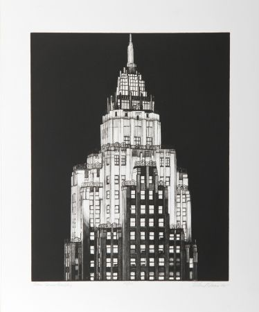 彫版 Haas - Cities Services Building