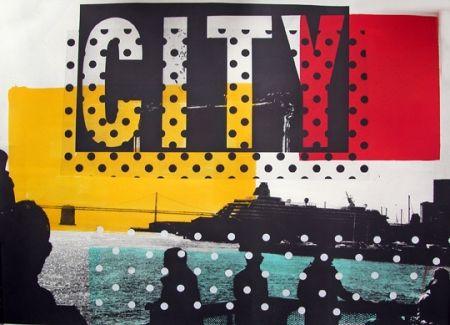 リトグラフ Soulie - CITY Lithographie de Tony SOULIE