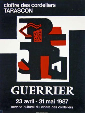 リトグラフ Guerrier - Cloitre des Cordeliers Tarascon