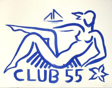リトグラフ Szczesny - Club 55
