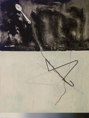 リトグラフ Johns - Coat Hanger and Spoon