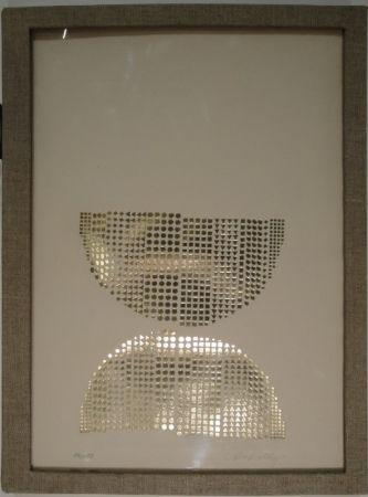 シルクスクリーン Vasarely - Code avec en regard des oeuvres originales de Vasarely
