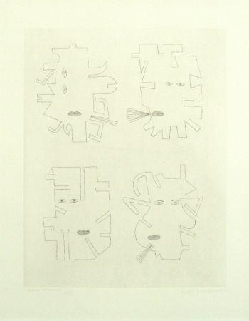 彫版 Brauner - Codex d'un visage