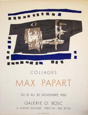 リトグラフ Papart - Collages Galerie O  Bosc