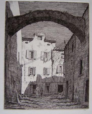 彫版 Strang - Collioure