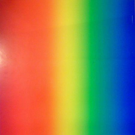 シルクスクリーン Alviani - Colore