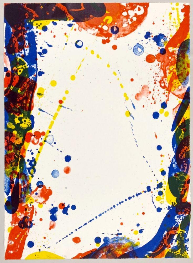 リトグラフ Francis - Colors in Space II