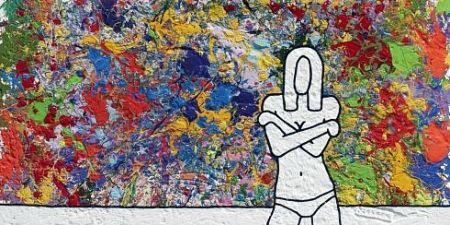 リトグラフ Scott - Colourful Memories