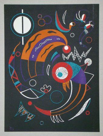 リトグラフ Kandinsky - Comètes