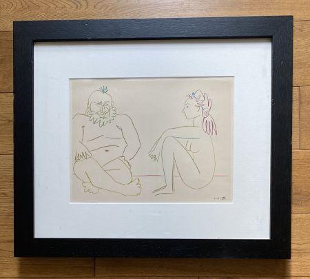技術的なありません Picasso - Comédie Humaine 27/1/54.XIV
