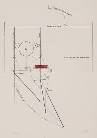 エッチング Duchamp - Combat de boxe