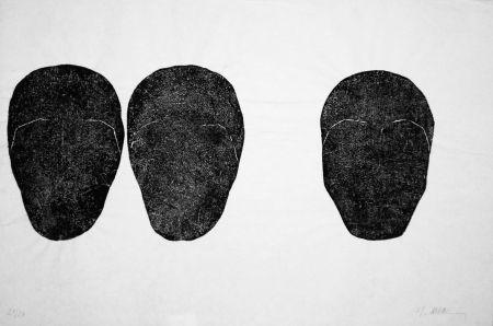 彫版 Ubac - Comme un sol plus obscur I