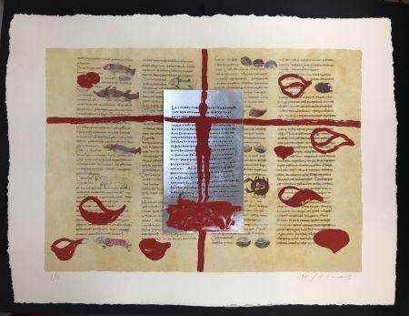 多数の Paladino - Complete folder with 8 works RABANUS MAURUS - De Universo
