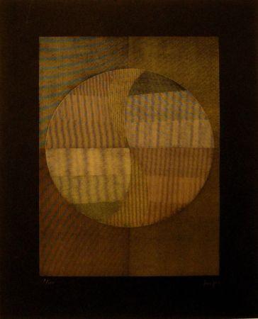 シルクスクリーン Sempere - Composición 1
