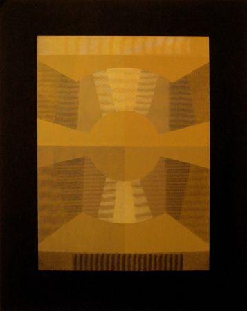 シルクスクリーン Sempere - Composición 3