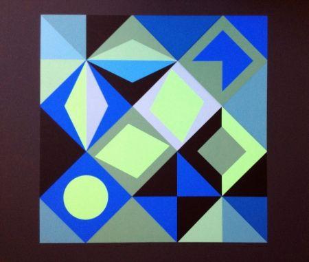 リトグラフ Vasarely - COMPOSICION