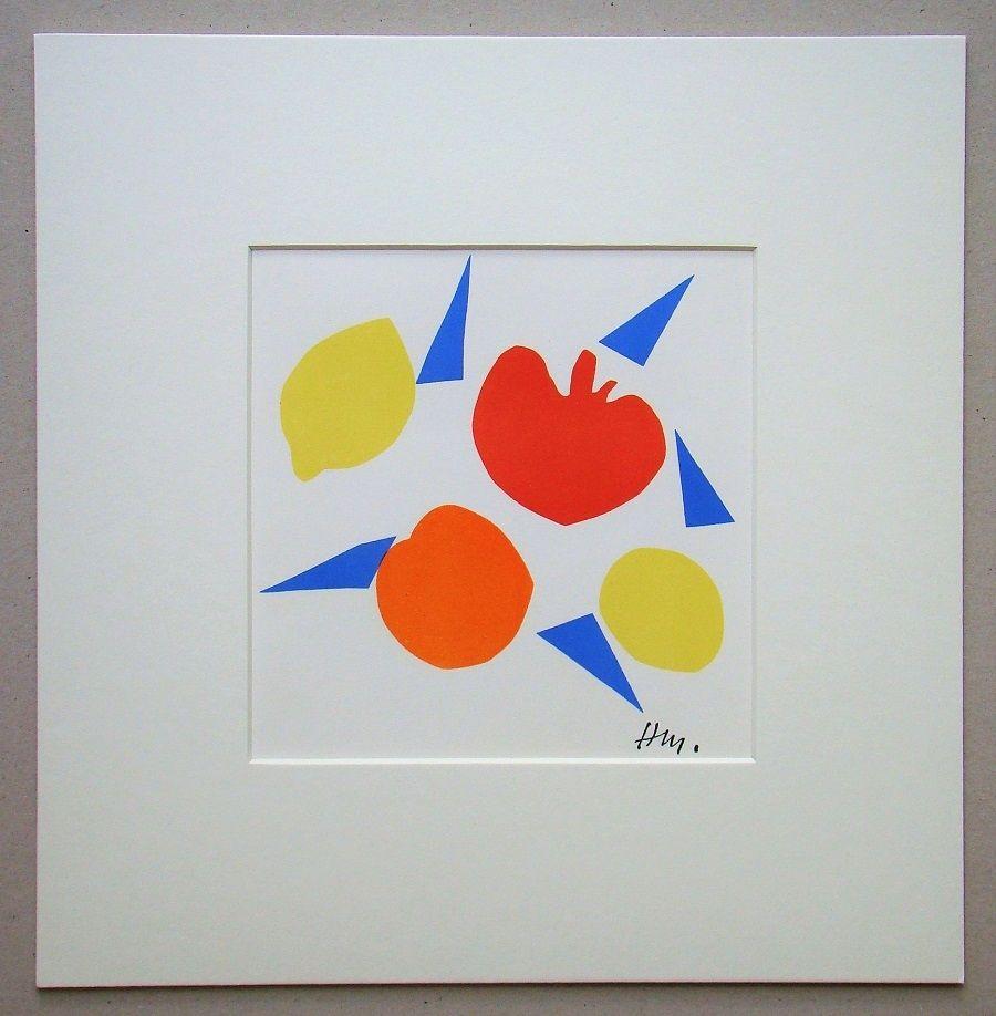 リトグラフ Matisse (After) - Composition