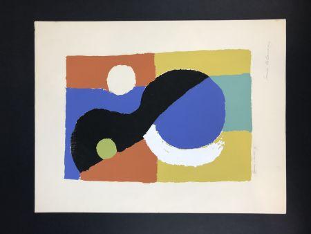 リトグラフ Delaunay - Composition