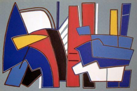 リトグラフ Magnelli - '' Composition ''