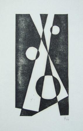 木版 Maatsch - Composition