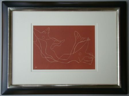 リノリウム彫版 Laurens - Composition
