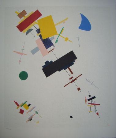 リトグラフ Malevitch - Composition