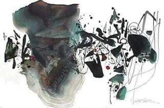 リトグラフ Chu Teh Chun  - Composition