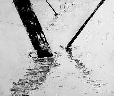 彫版 Barcelo - Composition