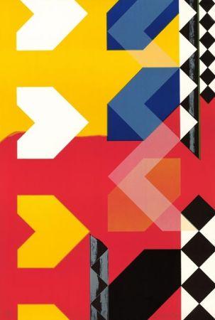 リトグラフ Rougemont (De) - Composition