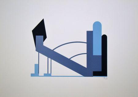 シルクスクリーン Maatsch - Composition