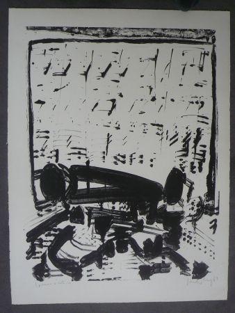 リトグラフ Sonderborg - Composition,1963