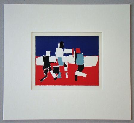 リトグラフ De Stael - Composition - 1951