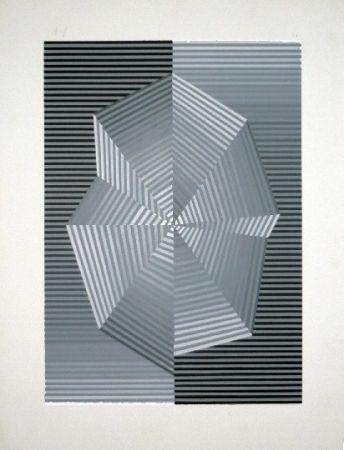 シルクスクリーン Sempere - Composition 1