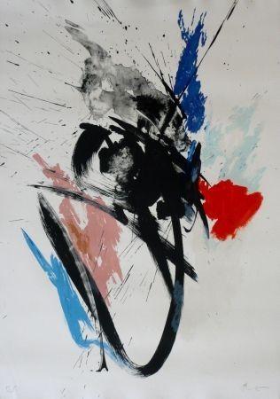 リトグラフ Miotte - Composition 110