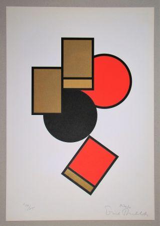 シルクスクリーン Buchholz - Composition, 1920