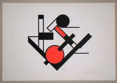 シルクスクリーン Buchholz - Composition, 1921