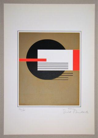 シルクスクリーン Buchholz - Composition, 1922