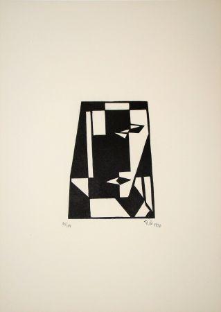 木版 Maatsch - Composition, 1926