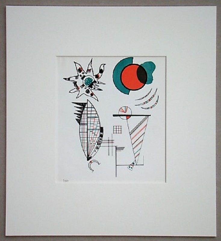 リトグラフ Kandinsky - Composition, 1934